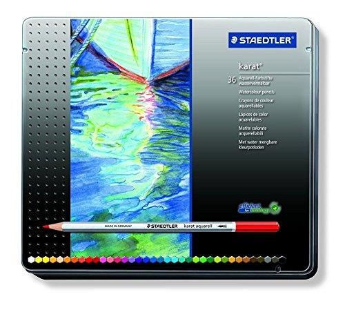 ステッドラー 水彩色鉛筆 カラトアクェレル 125 M36 36色