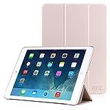 iPad Air 2 ケース - ATiC Apple iPad Air 2 用三つ折り 超薄型 軽量型 スタンドケース オートスリープ機能対応 GOLD