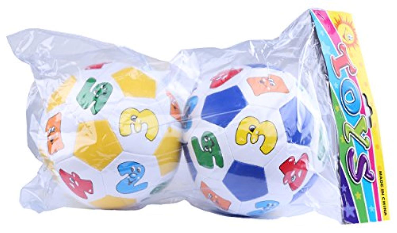 Greencherryのセット2最初手順コレクションGrooveサッカーボールおもちゃfor赤ちゃん幼児用