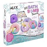 Alex Spa DIY Bath Bomb Donuts Kids Bath Bomb Soap Kit