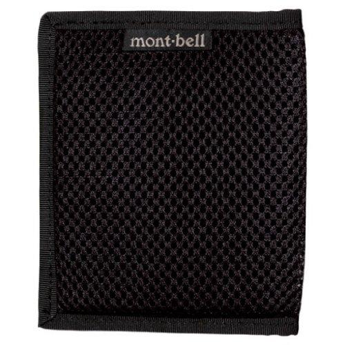 モンベル(mont‐bell) スリムワレット メッシュ ブラック BK