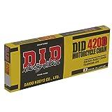 D.I.D(大同工業)バイク用チェーン クリップジョイント付属 420D-122RB STEEL(スチール) 二輪 オートバイ用