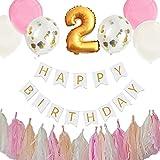 Hanamei(ハナメイ)誕生日 飾り付け 装飾 バースデー デコレーション セット no.2 ファーストバースデー1歳 2歳 男の子 女の子 pa015..