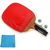 バタフライ(Butterfly) ADDOY P20 卓球 ラケット ペングリップタイプ (ラケット、ボール2個、オリジナル スポーツタオル1枚)