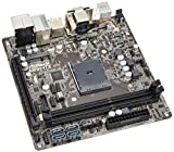 ASRock マザーボード AMD Athlon Sempron(Kabiniコア) ハイエンド AM1 Mini-ITX DispalyPort AM1H-ITX