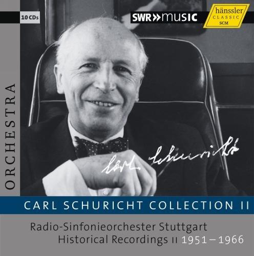 カール・シューリヒト・コレクション 第2集 / シュトゥットガルト放送交響楽団 歴史的録音集 1951-1966 (Carl Schuricht Collection II / Radio-Sinfonieorchester Stuttgart Historical Recording 1951-1966) (10CD) [輸入盤]