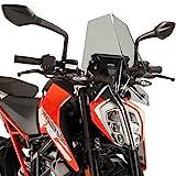 Puig 9514H NEW GENERATION [SMOKE] KTM 125DUKE 200DUKE 390DUKE (17-18) プーチ スクリーン カウル