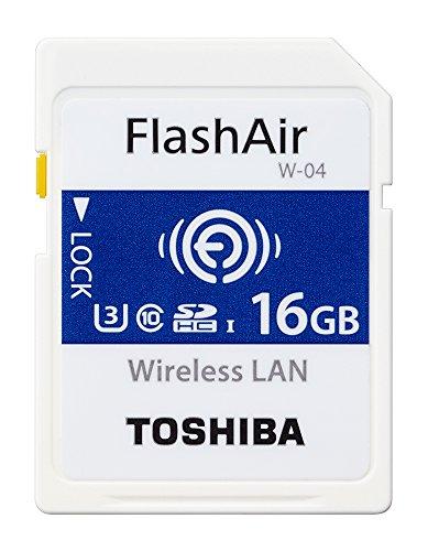 SD-UWA016G FlashAir SDHCメモリカード SD-UWAシリーズ W-04 16GB