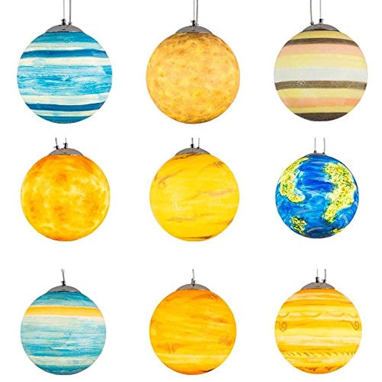 混乱した特別にラッカス天井照明 ライトアースライト木星装飾ライトルナ幼稚園クリエイティブ屋外アート惑星シャンデリア Z.L.F.J.P (Color : Neptune, Size : S)