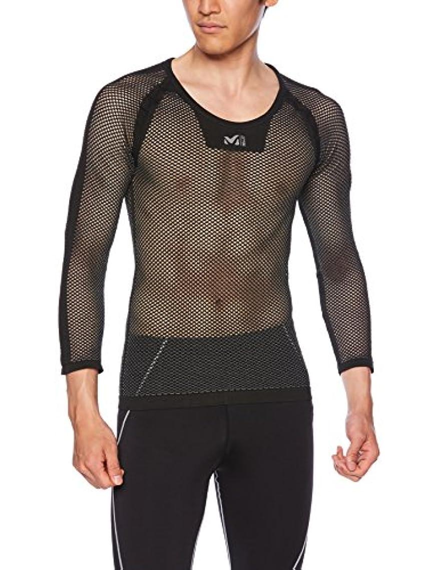 電気的失速静けさ(ミレー)Millet ドライナミックメッシュ 3/4シャツ MIV01356 [メンズ]