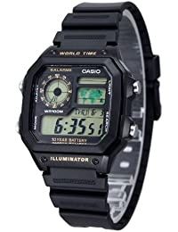 [カシオスタンダード]CASIO STANDARD 【カシオ】CASIO STANDARD 腕時計 AE-1200WH-1B【逆輸入モデル】 AE-1200WH-1B メンズ 【逆輸入品】