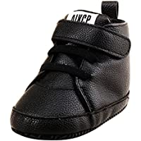 Weixinbuy Infant Baby Boy's High Top Soft Soled Anti Slip Casual Sneaker Shoes