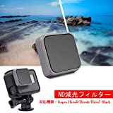 LENSKINS MRC NDフィルター for Gopro Hero (2018)/ Hero7 Black / Hero6 Black / Hero5 Black ND16