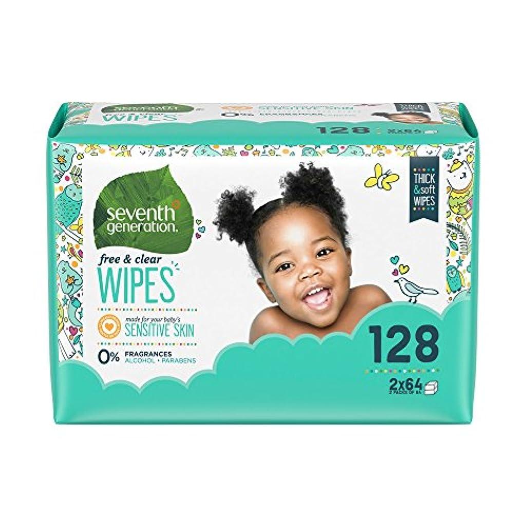 過度のペアロンドンSeventh Generation - 無香性塩素無料で赤ちゃんのおしりふき詰替パック - 1Wipe(s)