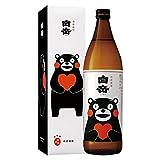 熊本土産 九州土産 本格米焼酎 白岳 くまモンボトル 箱付き 900ml