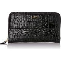 Oroton Women's Forte Texture Croco Multi-Pocket Zip Around Wallet