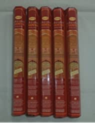HEM Precious Chandan 100 Incense Sticks (5 x 20 stick packs) by Hem