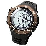 [ラドウェザー]アウトドア時計 高度計 気圧計 コンパス デジタル腕時計 登山 クライミング