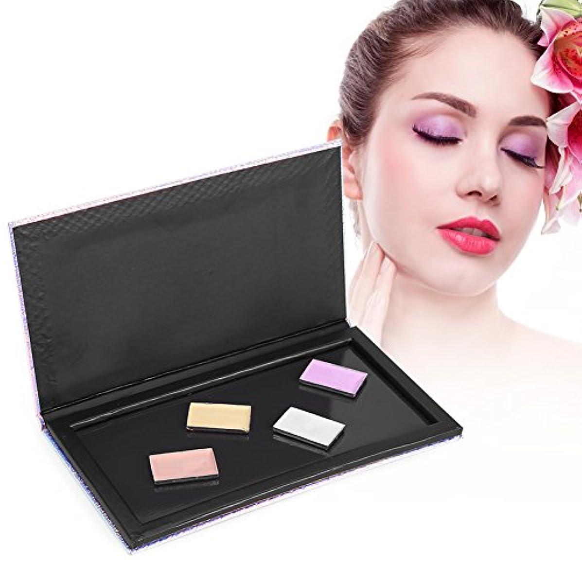 推測タブレット債務空のアイシャドウブラッシュ 化粧品ケース 収納ケース パレットグラデーションカラー 磁気化粧収納ボックス 18 * 10CM