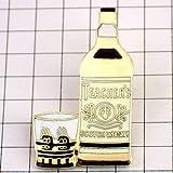 限定 レア ピンバッジ スコッチウイスキー酒ティーチャーズ瓶 ピンズ フランス