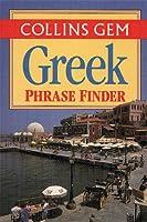 Collins Gem Greek Phrase Finder: The Flexible Phrase Book