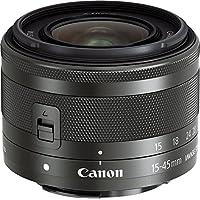 Canon 標準ズームレンズ EF-M15-45mm F3.5-6.3IS STM(グラファイト) ミラーレス一眼対応 EF-M15-45ISSTM