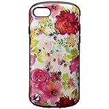 MSソリューションズ iPhone 8 Plus/7 Plus用耐衝撃ハイブリッドケース 「PALLET Design」 フラワーピンク LP-I7SPHVCDPK
