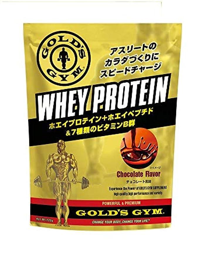 アスリート気分六ゴールドジム(GOLD'S GYM) ホエイプロテイン チョコレート風味 720g
