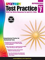 Spectrum Test Practice, Grade 7: Reproducible