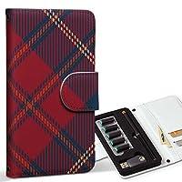 スマコレ ploom TECH プルームテック 専用 レザーケース 手帳型 タバコ ケース カバー 合皮 ケース カバー 収納 プルームケース デザイン 革 チェック 赤 緑 012442