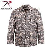 ロスコ BDU シャツ ジャケット/ROTHCO B.D.U. SHIRTS (XXXL, アーミーデジタルカモ(ACU))