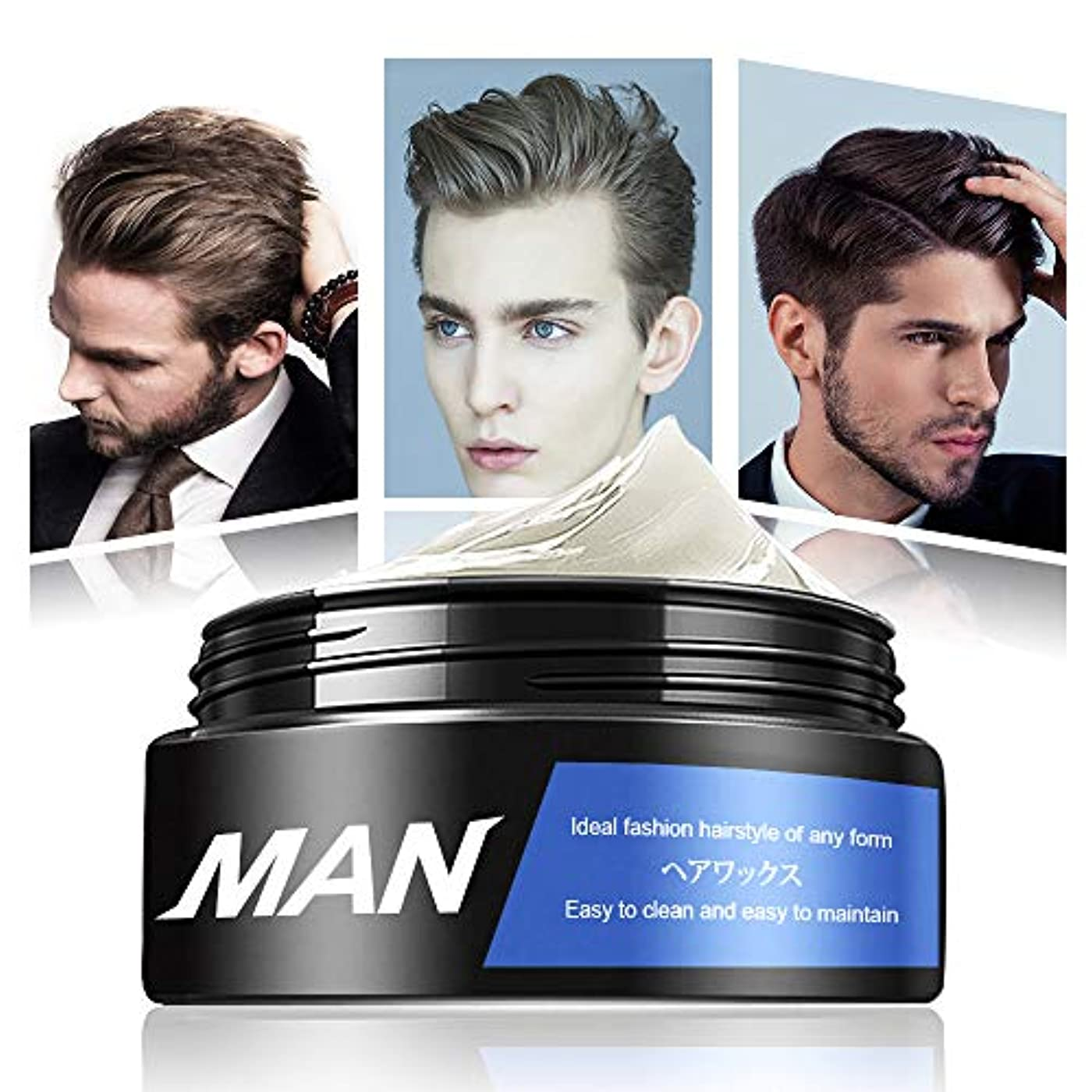 破壊的遺産持つヘアワックス クリームワックス 香り メンズ 大容量 100g