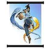 Avatar : The Legend of Korra Cartoonファブリック壁スクロールポスター( 16