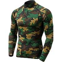 (テスラ)TESLA 長袖 ハイネック スポーツシャツ [UVカット・吸汗速乾] コンプレッションウェア パワーストレッチ アンダーウェア T11 / MUT72
