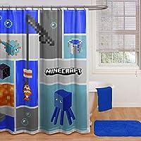 Minecraftシャワーカーテン
