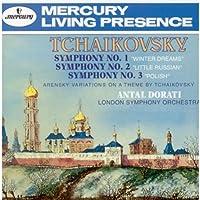 Tchaikovsky;Symphs.1,2&3