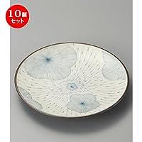 10個セット 梅・梅丸9.0皿 [ 286 x 40mm ]【 組皿 】 【 料亭 旅館 和食器 飲食店 業務用 】