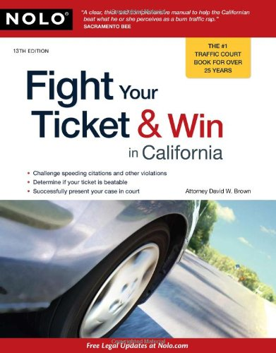 Download Fight Your Ticket & Win in California 1413310303