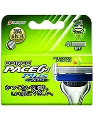 DORCO ドルコ PACE6Plus 男性用替刃式 カミソリ6枚刃 替え刃