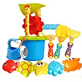 Chaopeng 子供の夏の砂のおもちゃ、ビーチのおもちゃセット、知育玩具、親 - 子供のおもちゃ、砂描画道具、公園と海に美しい思い出を残す