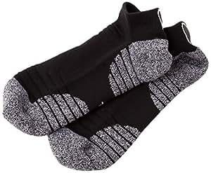 SHIELDS(シールズ) Training wear ソックス ショートソックス トレーニンググリップソックス Y-S03-01 FREE ユニセックス Y-S03-01 FREE ブラック FREE 素材: ナイロン65% コットン20% ポリエステル10% ポリウレタン5%