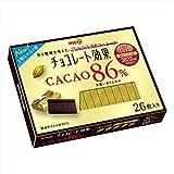 明治 チョコレート効果カカオ86%26枚入り 130g×6箱