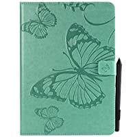 iPad Pro 9.7 2017 - Protective 置換 レザーケース Leather Case/Cover / Bumper/Skin / Cushion - Fashion Art Collection (Green)
