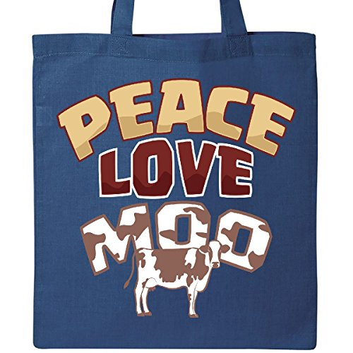 Inktastic – Cow Lover Peace Lo...