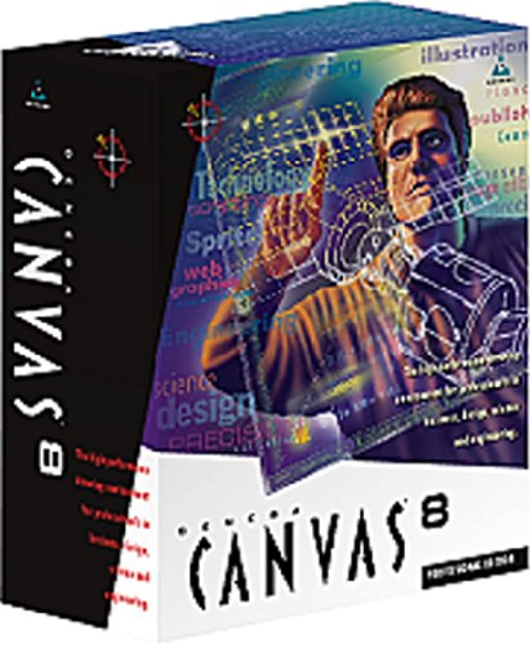 高層ビル気体の専門用語CANVAS 8 シングル (E)