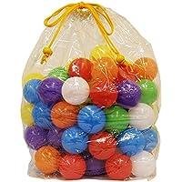 カラーボール 100個入り やわらか 軽い ボール