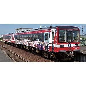 プラッツ D085 鹿島臨海鉄道 6011形 (3号車) (ガルパン塗装・モーター付き)