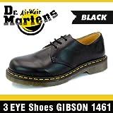 ドクターマーチン 1461 3EYE GIBSON BLACK 11838002