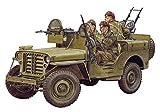 サイバーホビー 1/35 WW.II イギリス軍 SAS 4x4 小型軍用車 ヨーロッパ戦線 1944+第2SAS連隊歩兵フィギュア4体セット