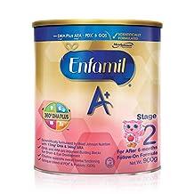 Enfamil A+ Stage 2 Follow-on Milk Formula 360 DHA+, 6 months onwards, 900g